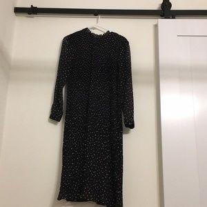 Longline H&M black dress